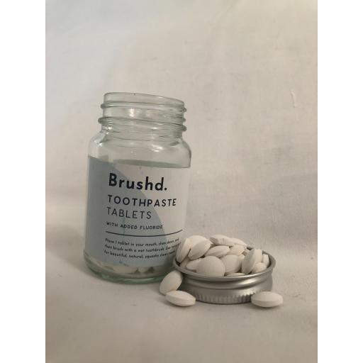 Brushd Toothpaste Tablets