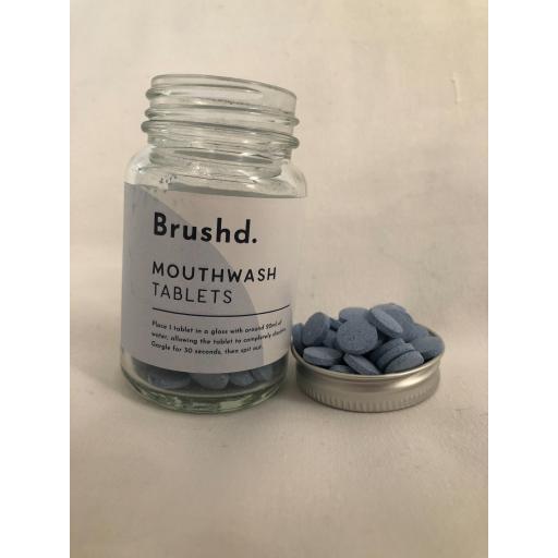 Peppermint Mouthwash Tablets