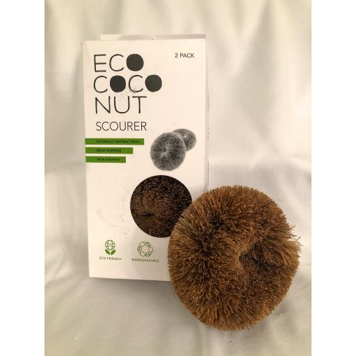 Coconut Scourers Pack of Two