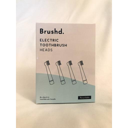 Brushd Recyclable Electric Toothbrush Head Oral-B/Philips Sonicare