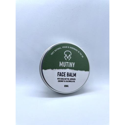 Mutiny Face Balm with Shea Butter, Avocado, Coconut, & Calendula Oil