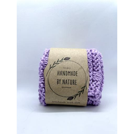 Handmade By Nature Recycled Cotton Yarn Wash Cloth
