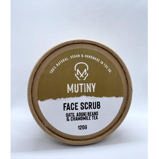 Mutiny Oats, Aduki Beans, & Chamomile Tea Face Scrub