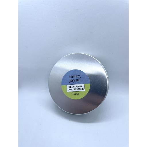 Hairy Jayne Treatment Conditioner in a Reusable Metal Tin
