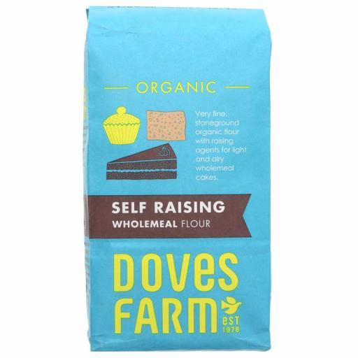 Doves Organic Self Raising Wholemeal Flour