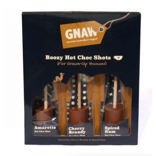 Gnaw Boozy Hot Chocolate Shot Gift Pack