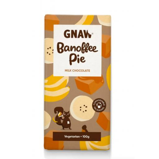 Gnaw Banoffee Pie Milk Chocolate Bar