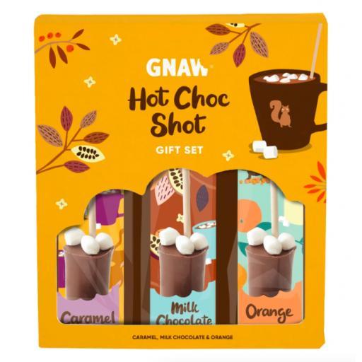Gnaw Mixed Hot Chocolate Shot Gift Pack